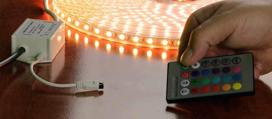 230V RGB-LED Streifen