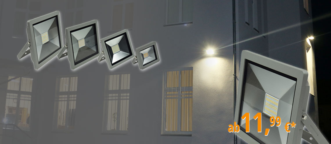 Flat LED food lights CTF-SLT for use as floor or hanging lamp