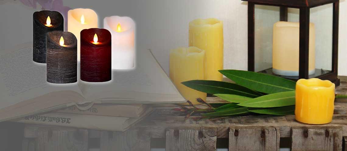 LED Kerzen – Täuschend echter Lichterzauber
