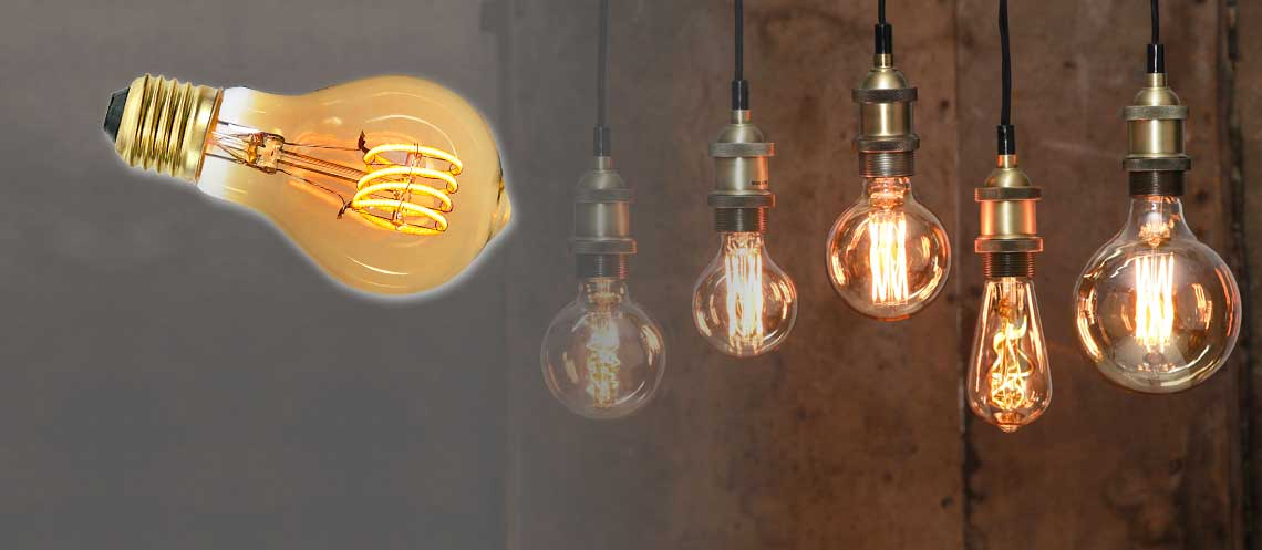 Creating a cosy atmosphere with filament lights