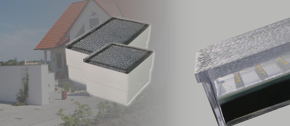 Hingucker für Einfahrt und Terrasse - LED Einbauleuchte als Pflasterstein