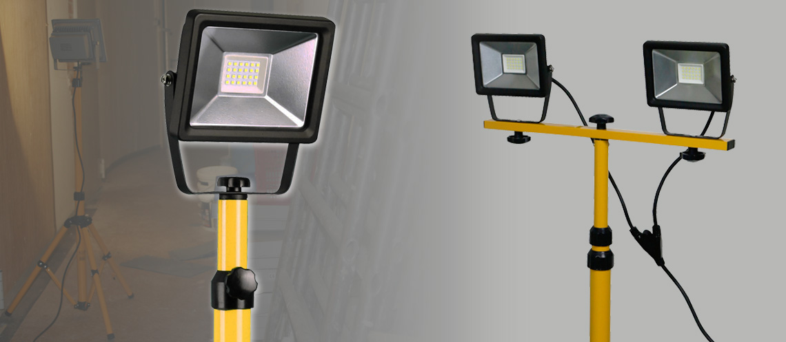 the ideal light for your constuction site or photo studio