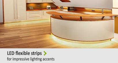 flexible LED Strip for impressive lighting accents