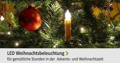LED Weihnachtsbeleuchtung für gemütliche Stunden