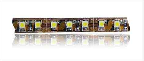 SMD strip 120x 3528 SMD LED's on brown board