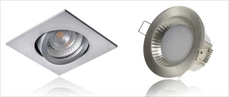 LED downlights single