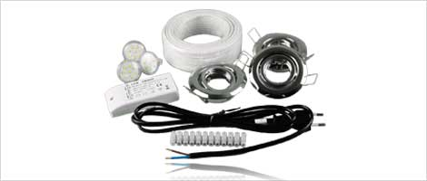 LED downlight sets