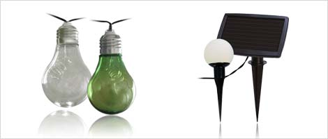 Solar Lichterketten