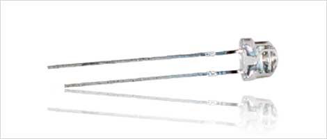 LEDs 4,8mm Flachkopf