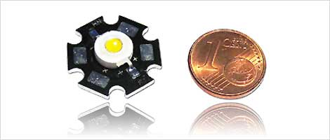 1 Watt LED Chips