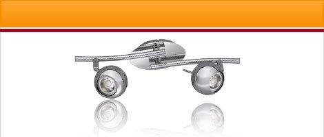 """LED Lampen Serie """"CP"""" Chrom"""