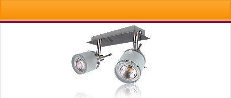 """LED Lampen Serie """"GBA"""" Aluminium"""