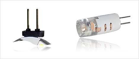 Light bulb with G4 socket