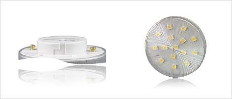 Light bulb with GX53 socket