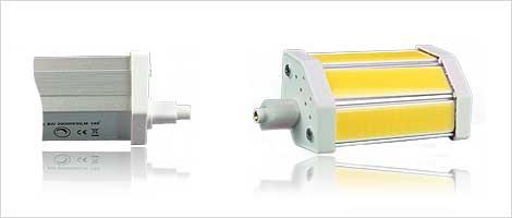 Light bulb with R7s socket