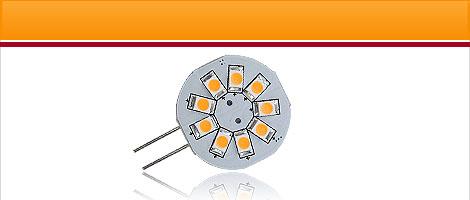 G4 LED vertikaler Anschluss