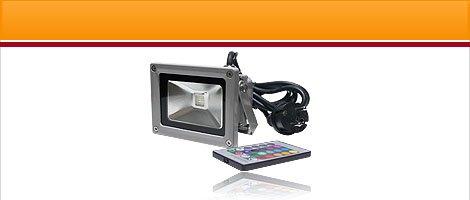 LED Fluter farbig & RGB