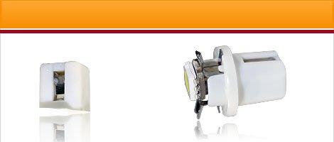 Light bulb with BAX10s / BAX10d socket