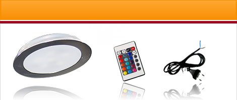 LED Einbauleuchte EBL-Slim RGB