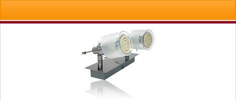 GBA Leuchten mit 60 SMD LEDs