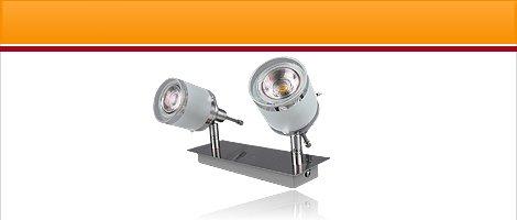 "LED Lampen Serie ""GBA"" Aluminium mit 3W COB LED"