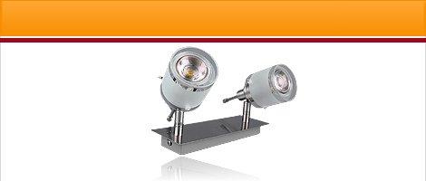 "LED Lampen Serie ""GBA"" Aluminium mit 5W COB LED"