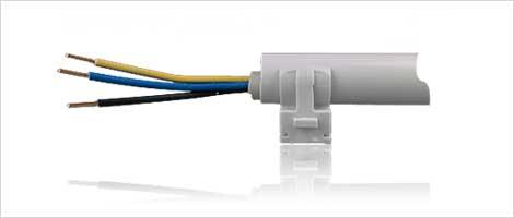 Kabelkanal und Kabelbefestigung