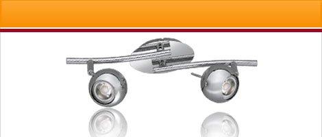 "LED lights series ""CP"" chrome with 3W COB LED"