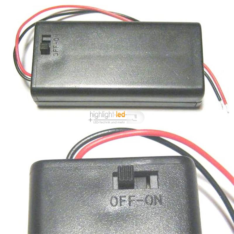 Batteriehalter für 2x Mignon AA Batterien