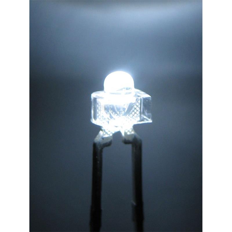 """10 LED 1,8mm wasserklar pur-weiß Typ """"WTN-18-4500"""""""