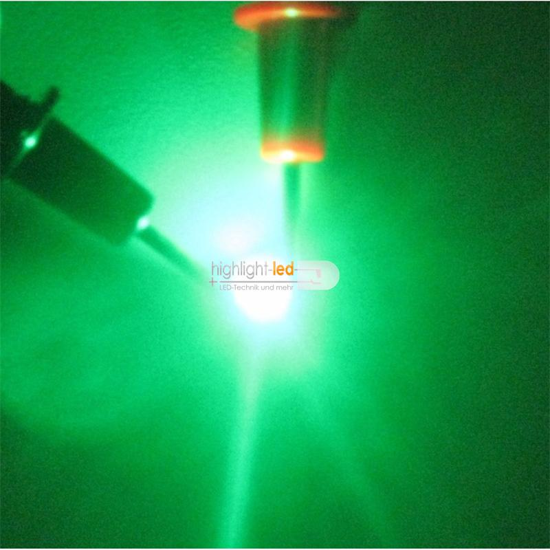 "10 SMD LED PLCC-2 3528 GRÜN Typ ""WTN-PLCC2-1000gr"""