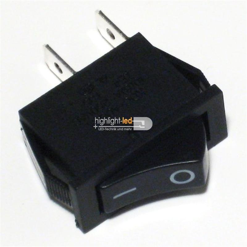 wippenschalter 1 polig ein aus 250v 6a schalter. Black Bedroom Furniture Sets. Home Design Ideas