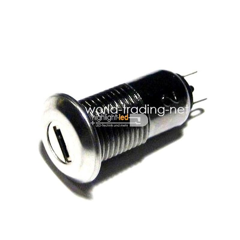 Schlüsselschalter 1A 125Vac 1-polig Miniatur