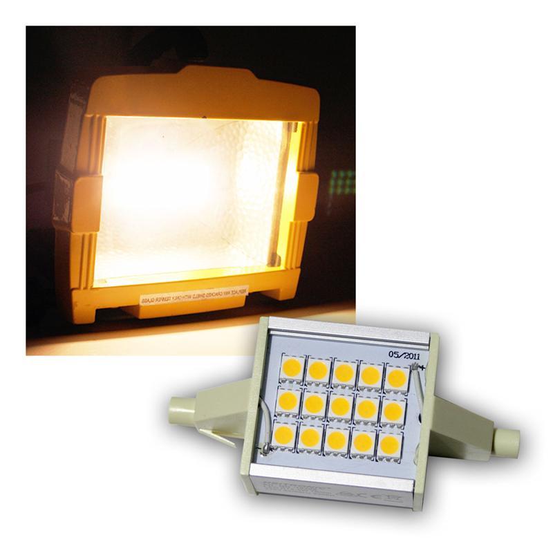 led leuchtmittel r7s warmwei 78mm 230v 4w. Black Bedroom Furniture Sets. Home Design Ideas