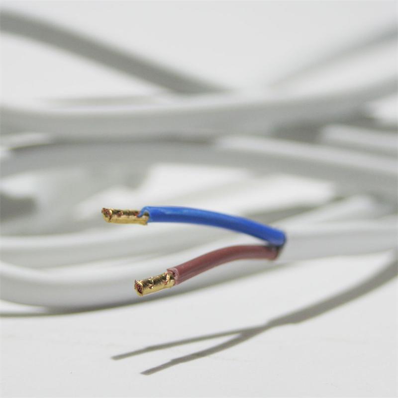 euro netzkabel 1 5m wei 2polig kabel stecker. Black Bedroom Furniture Sets. Home Design Ideas