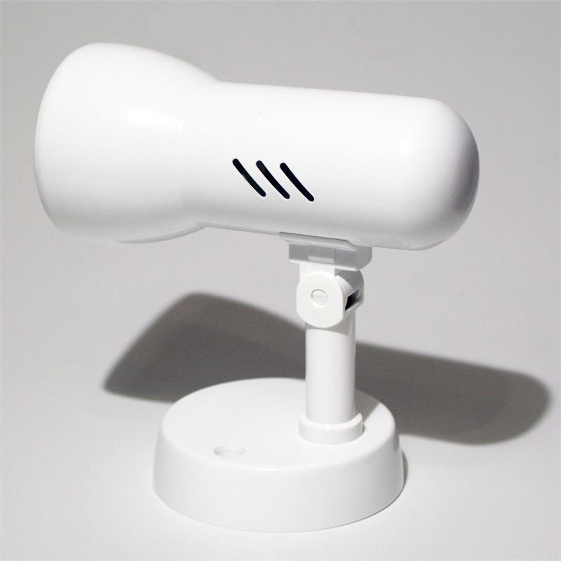 Tramp P Decken-Spot 1-flg E27, kaltweiß, 60 LEDs