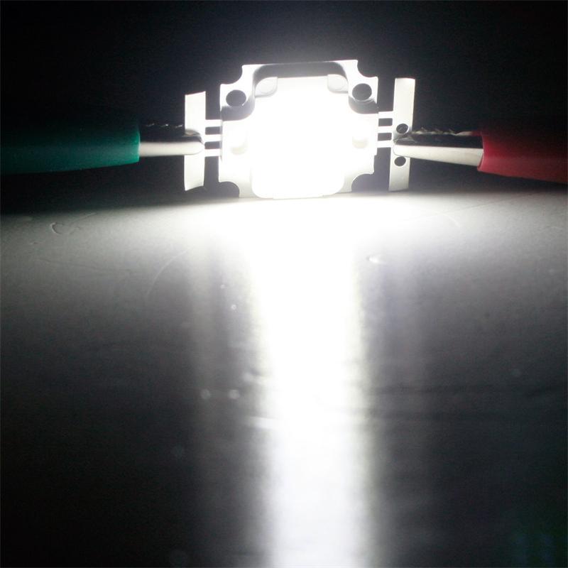 LED Chip 10W Highpower kalt-weiß SQUARE