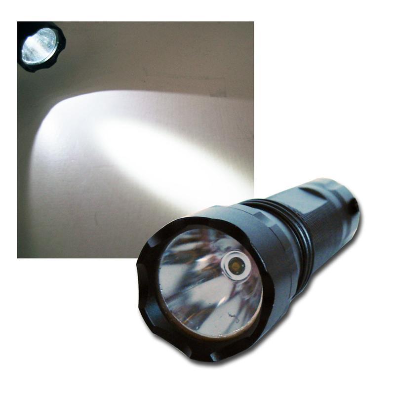 led taschenlampe highpower 5w cree leds lampe. Black Bedroom Furniture Sets. Home Design Ideas
