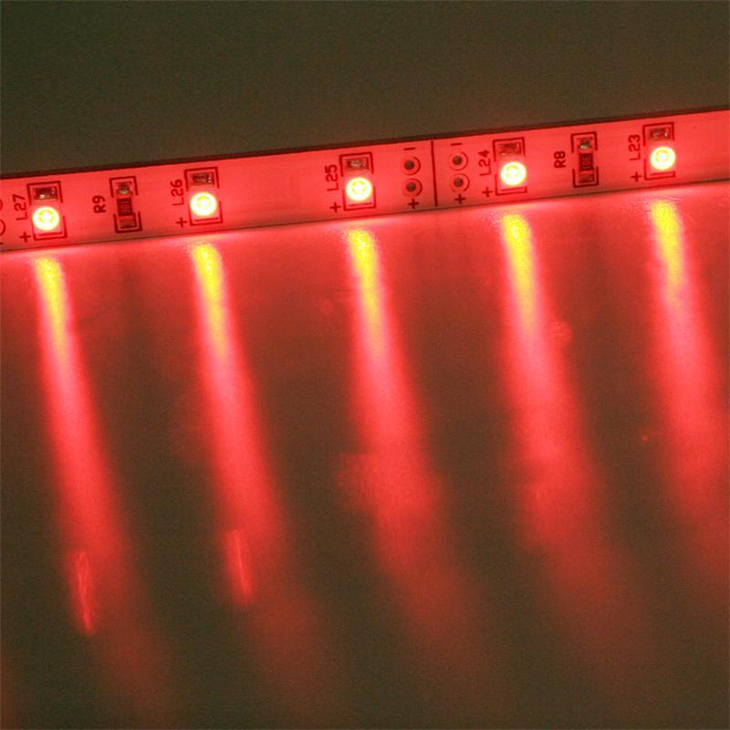 SMD LED Leiste rot 12V DC 48cm steckbar indoor