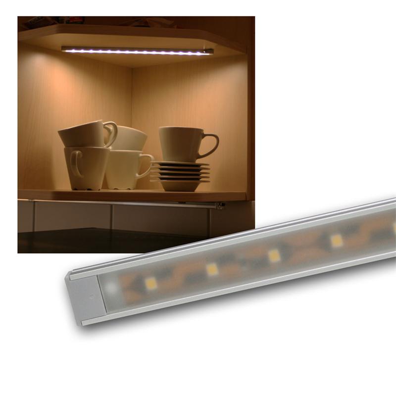 smd led lichtleiste wtn flat 28cm warmwei 12v. Black Bedroom Furniture Sets. Home Design Ideas