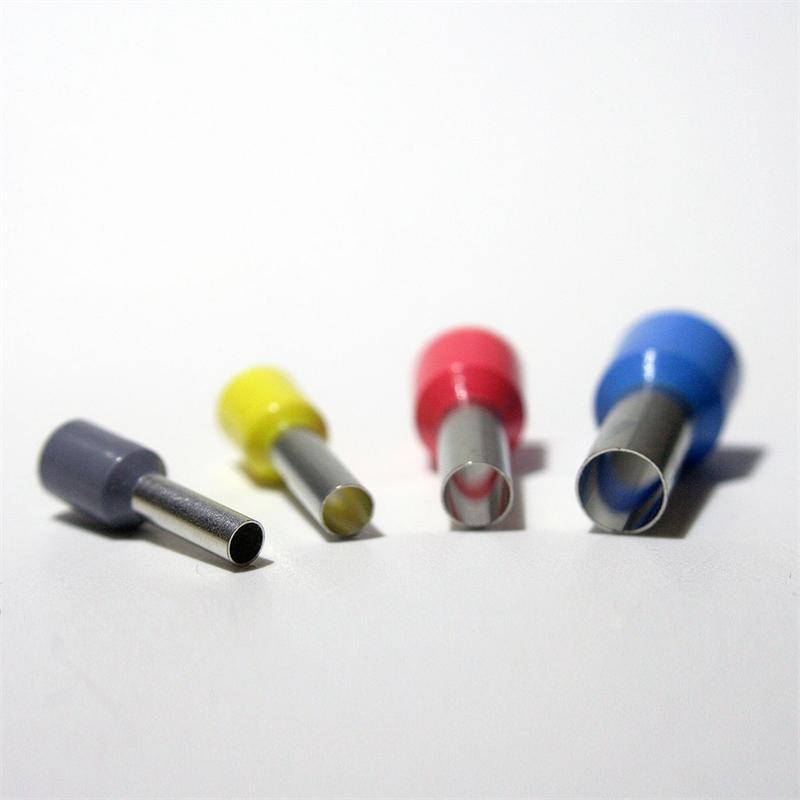 Aderendhülsen-Streudose isoliert 4 - 16 mm²