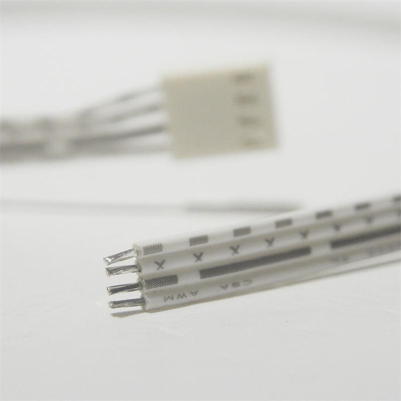 led anschlusskabel f r rgb 4 polig 50cm kabel. Black Bedroom Furniture Sets. Home Design Ideas