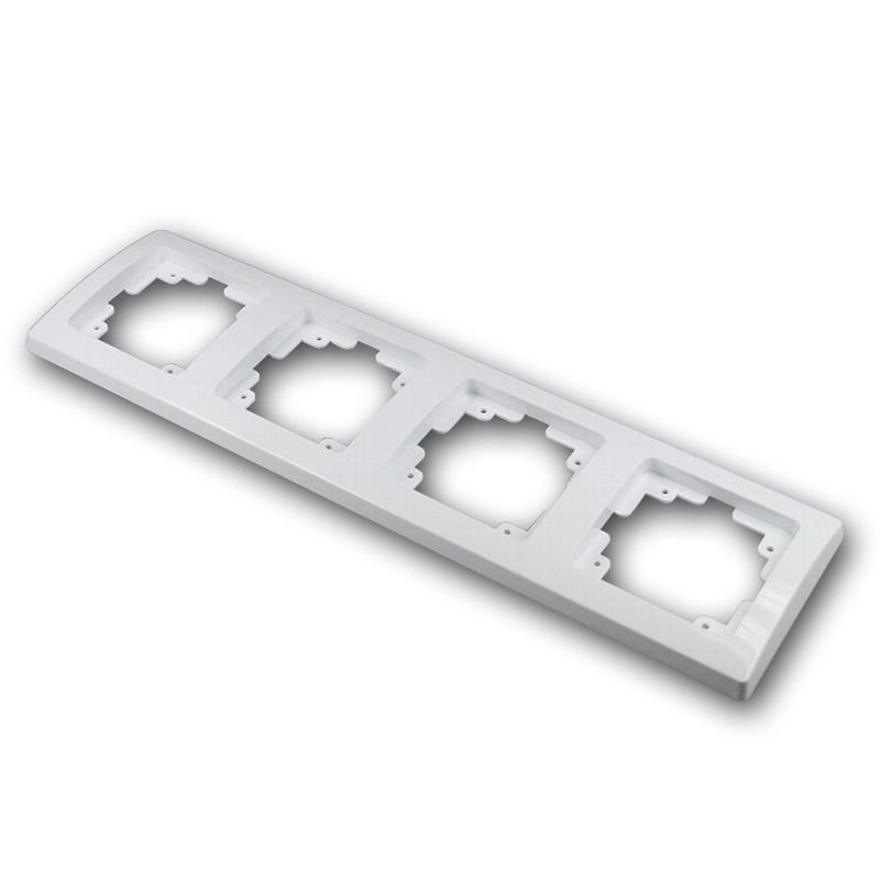 DELPHI 4x frame, under plaster, white