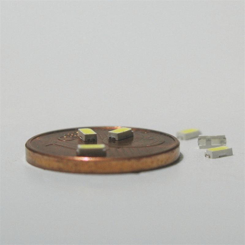 """10 SMD LED 3014 kaltweiß Typ """"WTN-3014-3600kw"""""""