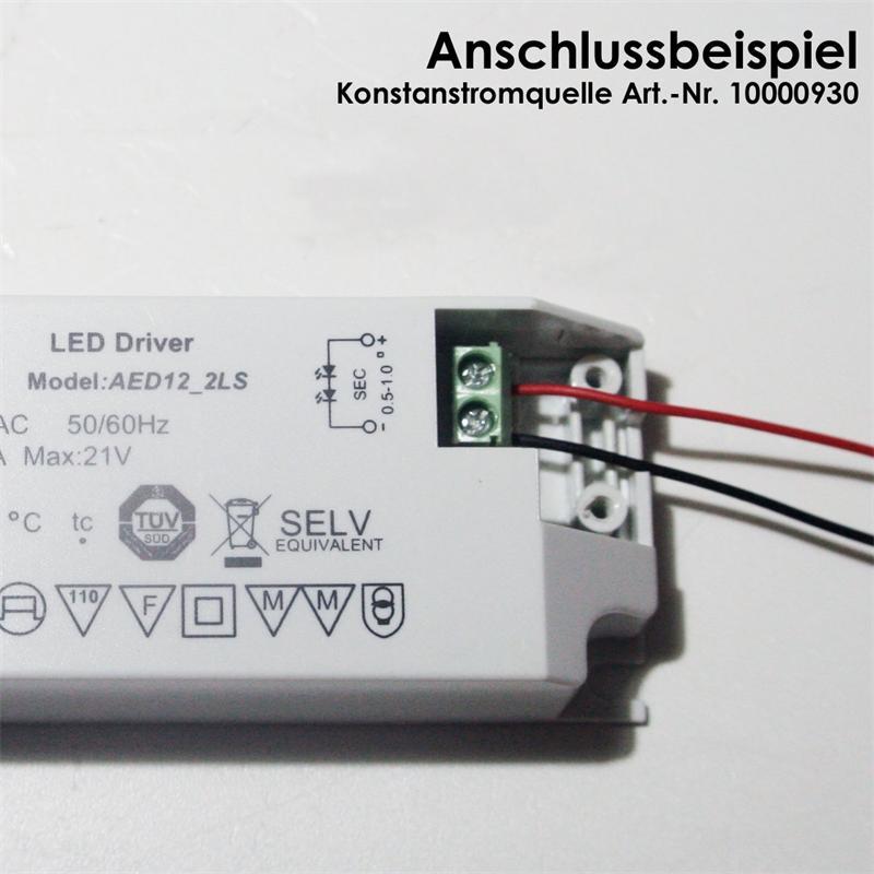 Verteiler für LED Spots in Reihenschaltung