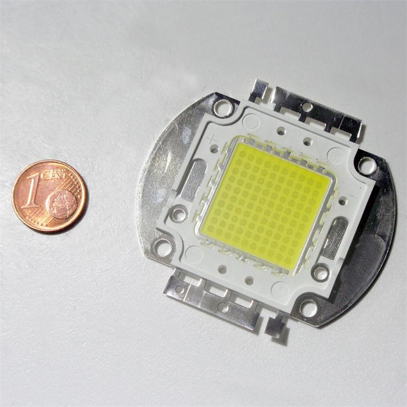 Led Chip 100w High Power Pure White Square