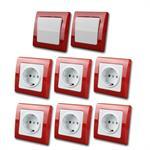 DELPHI Starter-Kit rot/weiß 8teilg 230V~/16A