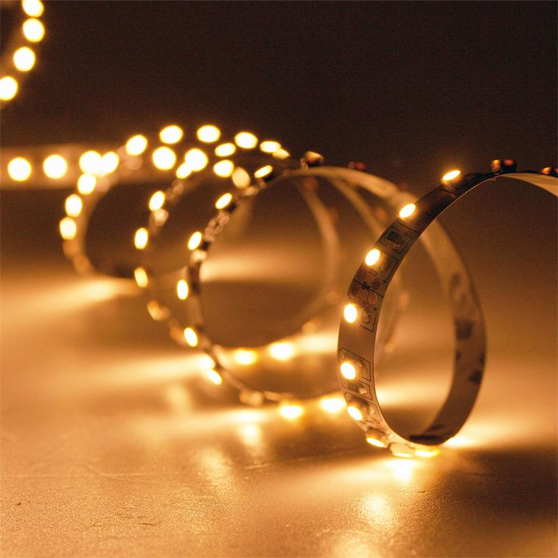 5m led lichtband 120led m golden wei pcb wei. Black Bedroom Furniture Sets. Home Design Ideas