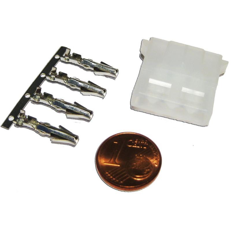 Floppy-Stecker 5 1/4''   4-polig, IDE Steckverbinder