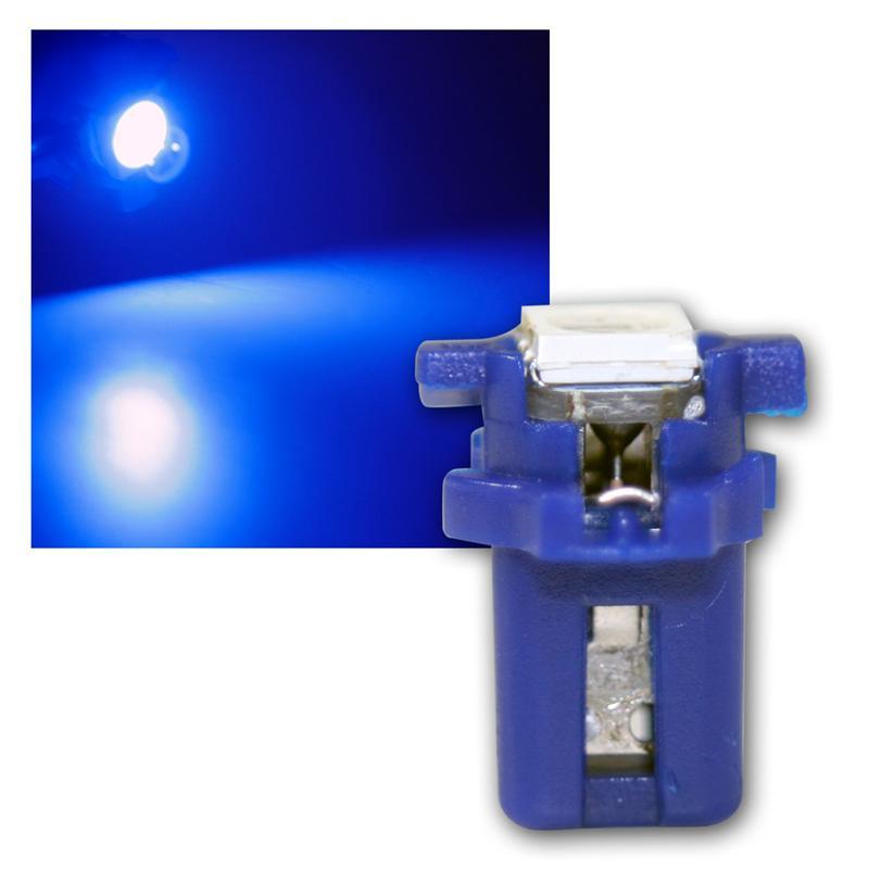 pnp led birne t5 blau lampe 12v. Black Bedroom Furniture Sets. Home Design Ideas